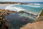 pic of mendocino  - A panoramic view of a beach in Fort Bragg, California