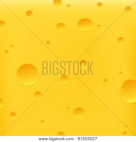 Cheese Yellow Background