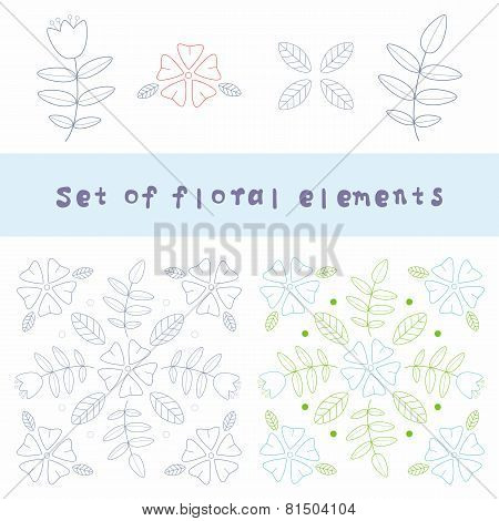 flower design element