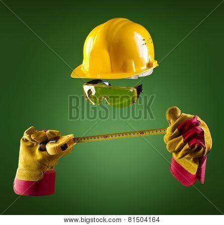 Invisible Builder -- Tape Measure