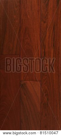 Wood Texture Of Floor, Ipe  Parquet.