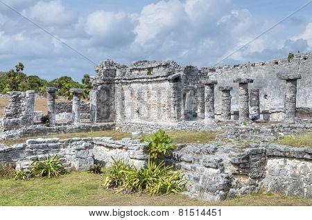 Maya Ruins Of Tulum