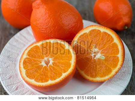 Sweet oranges fruits( mineola)