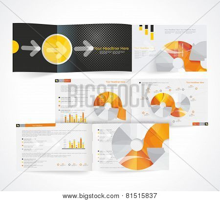 Blank Catalog Horizontal Format