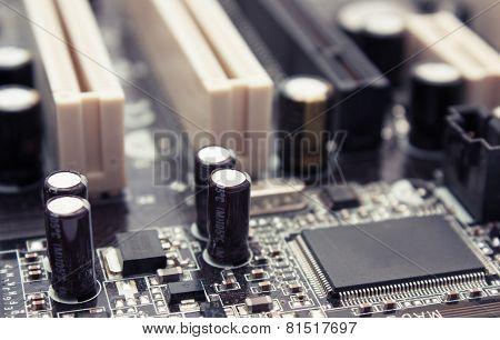 Electronics Circuit Plate Macro