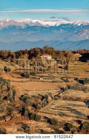View Of The Canigou Mountain