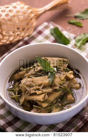 Bamboo Shoot Soup