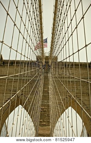 Brooklyn Bridge New York City famous Landmark