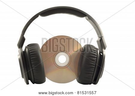 Headphones On Compact Disk