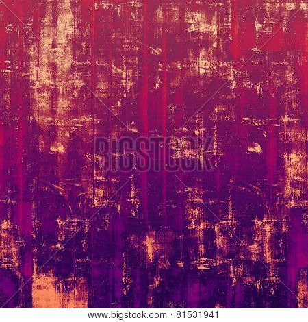 Old background or texture. With different color patterns: red (orange); yellow (beige); purple (violet); pink