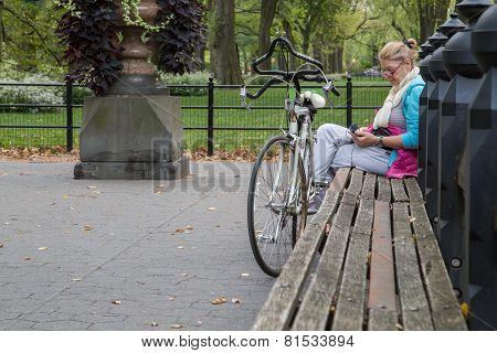 Cyclist Adult Woman