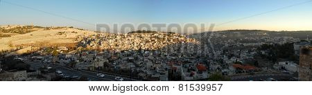 View Of The Mount Of Olives, Jerusalem