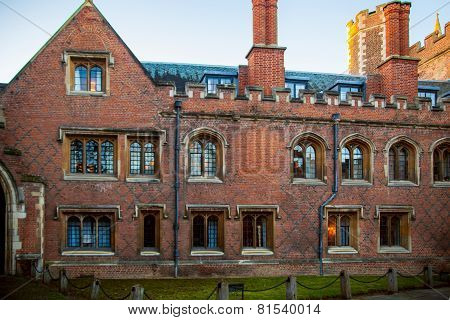 Trinity college, est. 1546. Cambridge