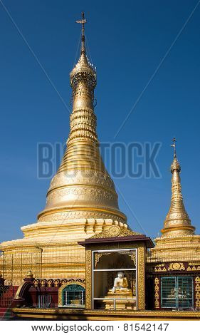 The Thein Daw Gyi Pagoda In Myeik, Myanmar