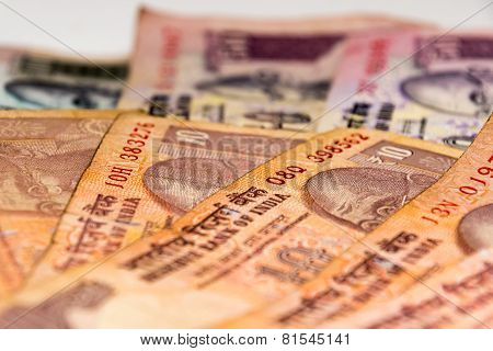 Indian Currency Rupee bank notes