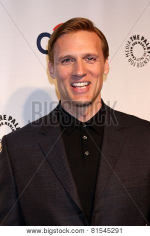 LOS ANGELES - MAR 24:  Teddy Sears at the PaleyFEST 2014 -