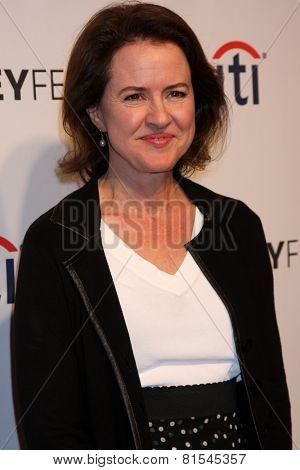 LOS ANGELES - MAR 24:  Michelle Ashford at the PaleyFEST 2014 -
