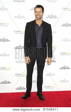 LOS ANGELES - JAN 8: Cameron Mathison at the TCA Winter 2015 Event For Hallmark Channel and Hallmark Movies & Mysteries at Tournament House on January 8, 2015 in Pasadena, CA