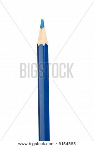 Dark Blue Pencil Vertically