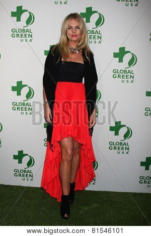 LOS ANGELES - FEB 26:  Carolin Copeland at the Global Green USA Pre-Oscar Event at Avalon Hollywood on February 26, 2014 in Los Angeles, CA