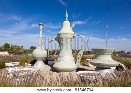 Coffeepot Sculpture In Al Ain