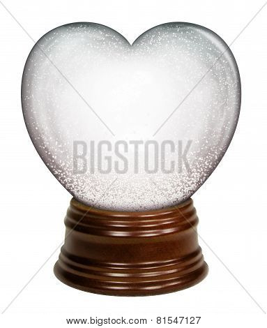 Heart Snow Globe