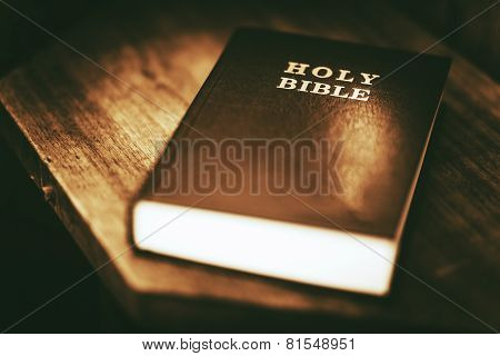 Holy Bible Closeup