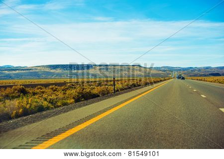 Nevada Desert Highway