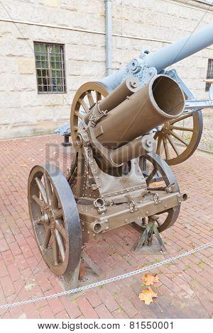 German 250Mm Heavy Mortar Model 1918