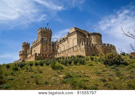 Medieval Castle, Community Of Madrid, Spain