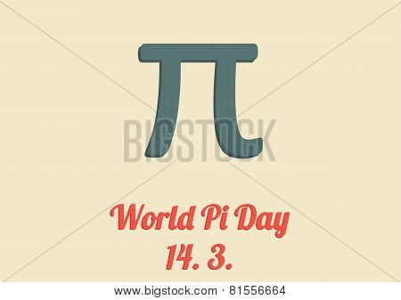 World Pi Day Card