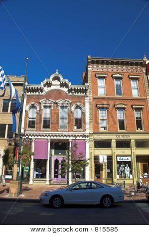 Lodo histórico en el centro de Denver