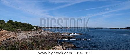 Portland Maine Harbor Area