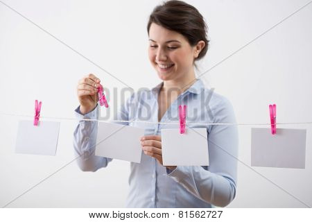Hanging The Cards