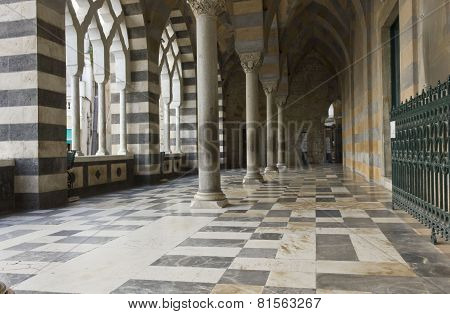 Amalfi Cathedral  (it.duomo Di Amalfi), External Colonnade