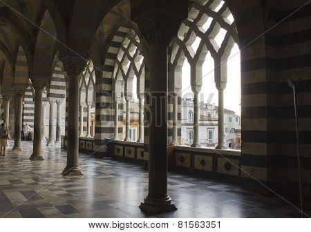Amalfi Cathedral, External Colonnade