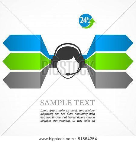 Call Center Infographic