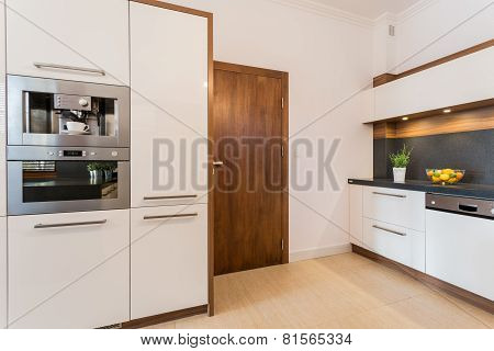 Oven And Microwave Housing Unit