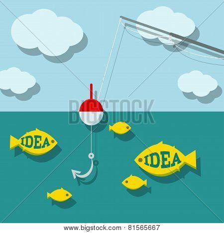 Search ideas concept