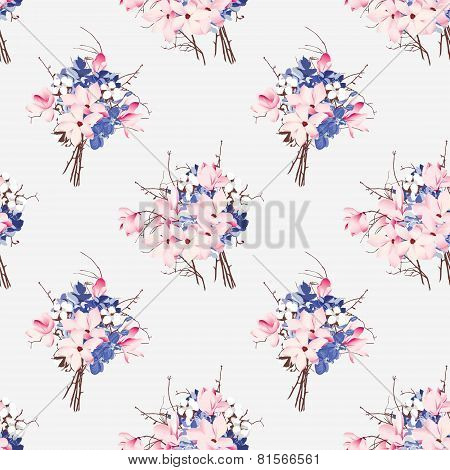 French style seamless vector pattern