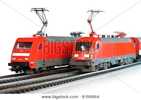 Miniature trains