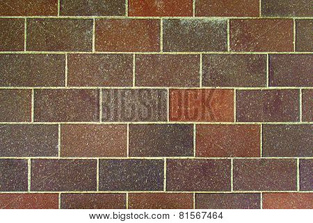 Brown Brick Wall Background.