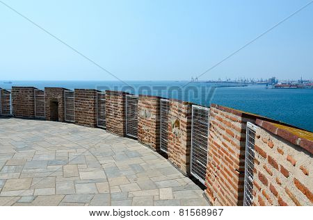 Greece, Thessaloniki, Observation Deck Of  White Tower