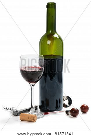 Tools For Wine And Red Wine
