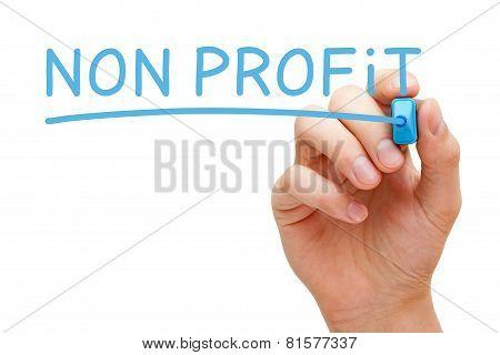 Non Profit Blue Marker