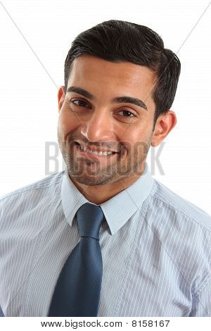 Smiling Friendly Businessman