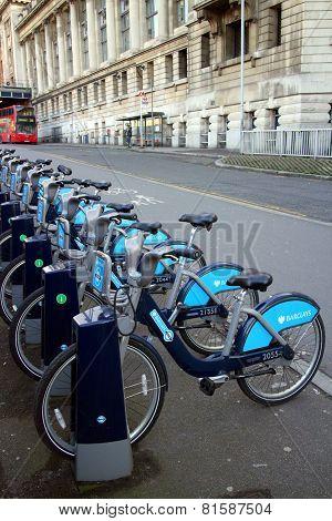 Barclays Bank Bicycles