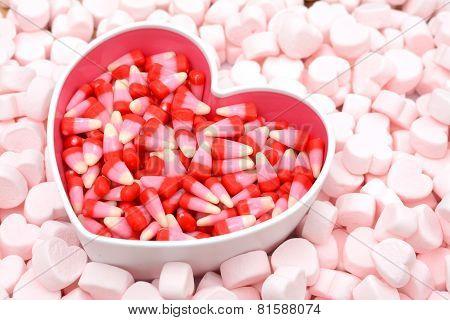 Pink Marshmallow Bowl