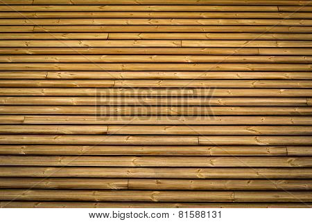 Horizontal Slats Wood