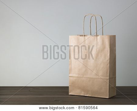Disposable Bag Of Kraft Paper